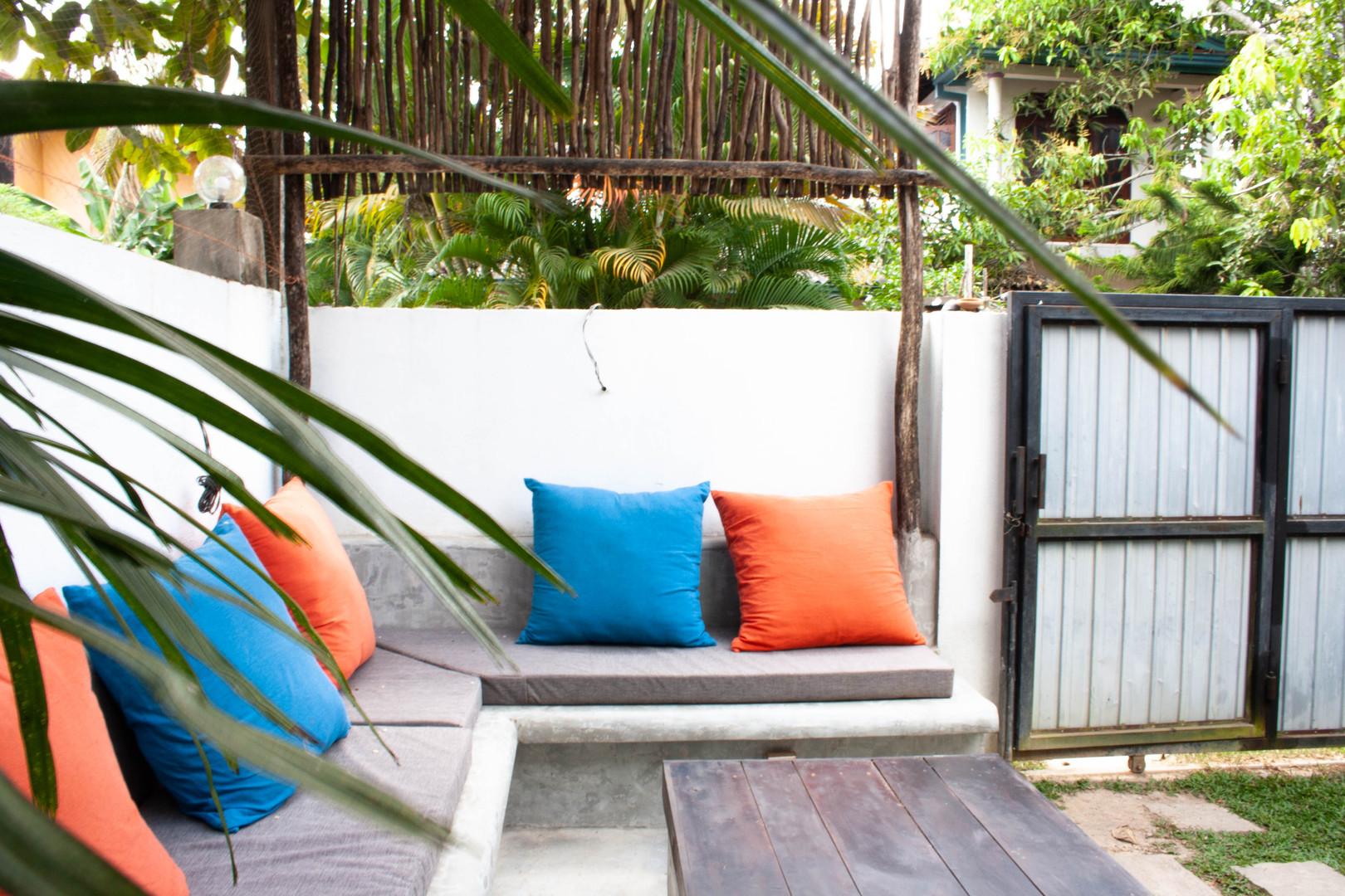 chill area garden
