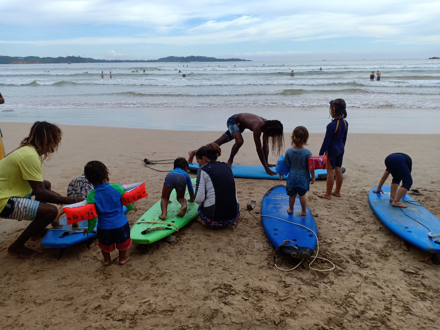 family surf camp