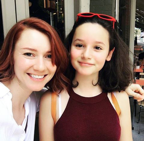 Valorie Curry and Audrey Boustani as Kara and Alice
