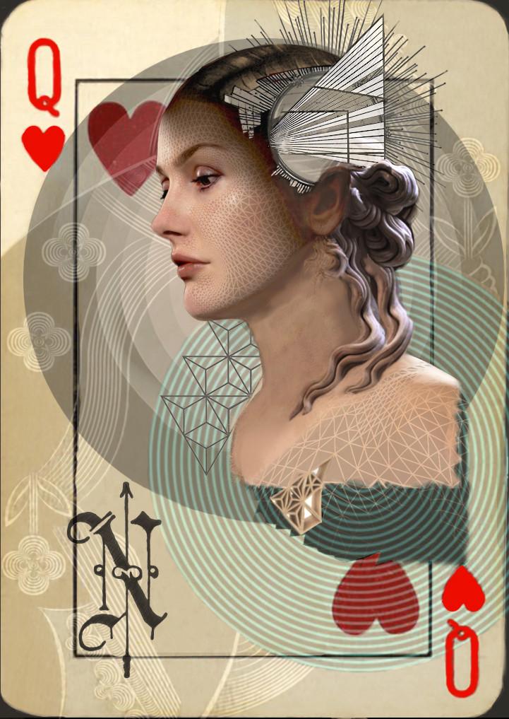 NORTH Queen of Hearts
