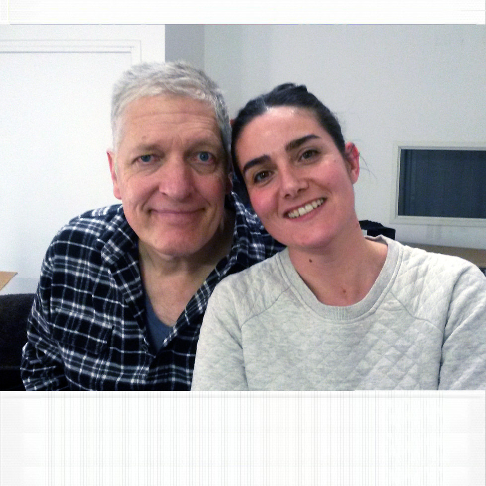 with the Fantastic Clancy Brown who plays Hank, and is Mister Krabs's voice.