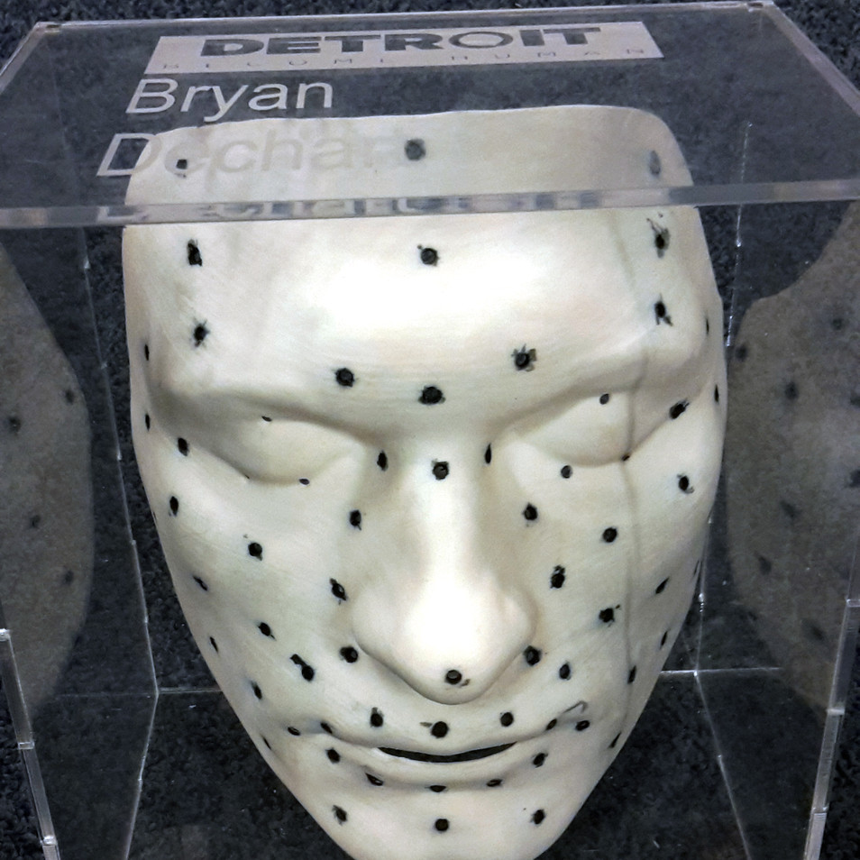 Bryan's Markers Mask