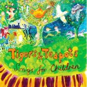 Tigers and Teapots CD - ONLY AVAILABLE IN AUSTRALIA