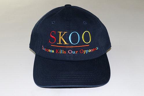 SKOO TAG Multi Color Cap Navy Blue
