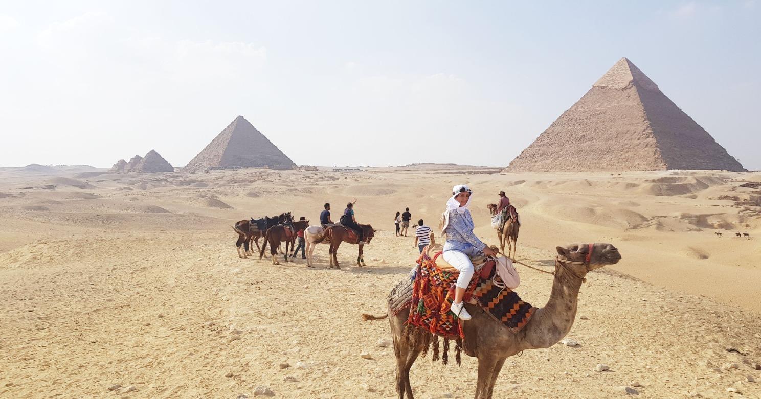 Pirámides de Giza - Egipto