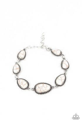 Elemental Exploration White Bracelet - B1474