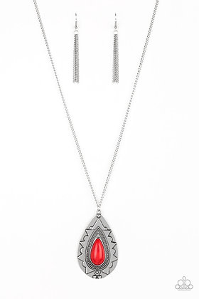 Sedona Solstice Red Necklace - N1370