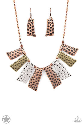 A Fan of the Tribe Necklace - N1357