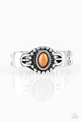 Right on TREK Brown Ring - Item # R1073
