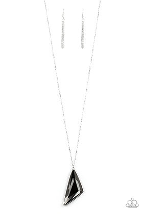Ultra Sharp Silver Necklace - N1396