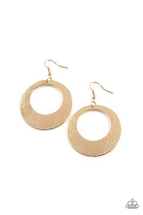Outer Plains Gold Earing - E1424