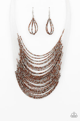 Catwalk Queen  Multi Necklace - N1329