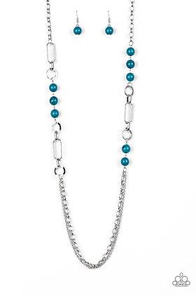 CACHE Me Out Blue Necklace - N1356