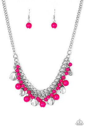Summer Showdown Pink Necklace - Item #N1143