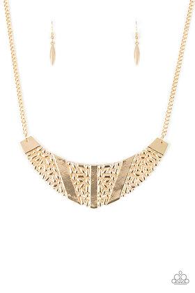 Terra Trailbreaker Gold Necklace -  N1402