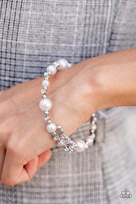 Chicly Celebrity White Bracelet - B1488