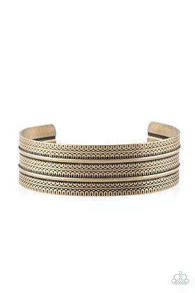 Absolute Amazon Brass Bracelet - B1375