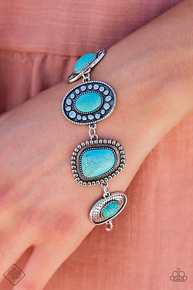 Taos Trendsetter Blue Bracelet - B1492