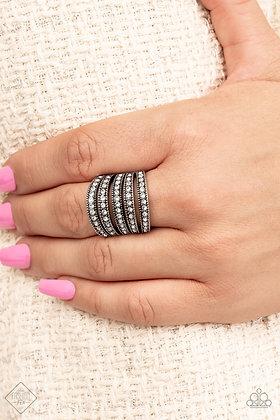 Empirical Sparkle White Ring - #R1457