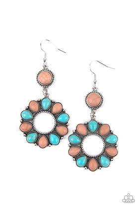 Back At The Ranch Multi Earring - E1423