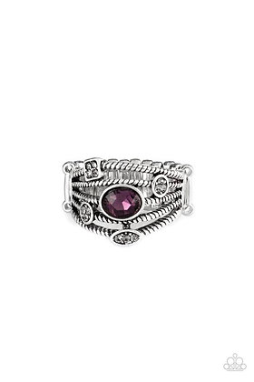 Cosmic Combo Purple Ring - Item #R1060