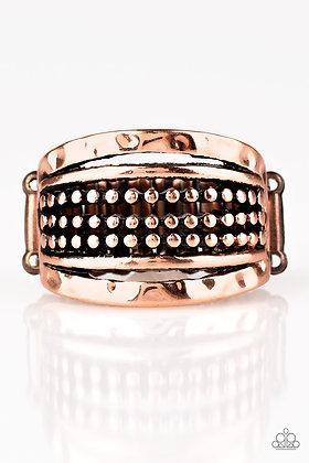Trailblazin Trails Copper Ring - Item #R1050