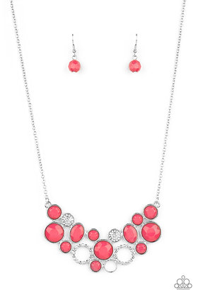 Extra Eloquent Pink Necklace - N1373