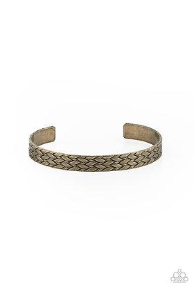 Mind Games Brass Bracelet - B1315