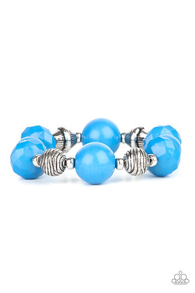 Day Trip Discovery Blue Bracelet - B1331