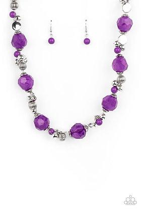 Vidi Vici VACATION Purple Necklace - N1336