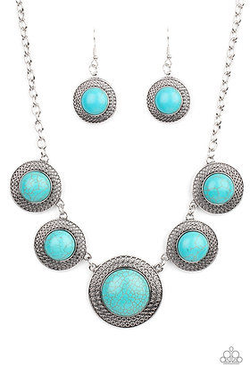 Circle The Wagons Necklace - N1407