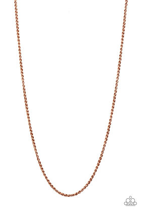 Jump Street Copper Necklace - N1173