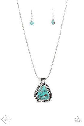 Artisan Adventure Blue Necklace - #N1464