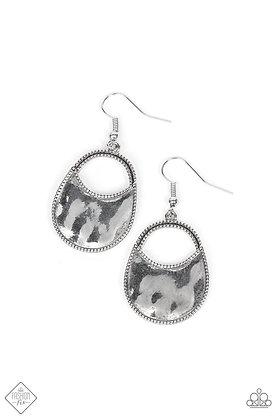 Rio Rancho Relic Silver Earring - E1491