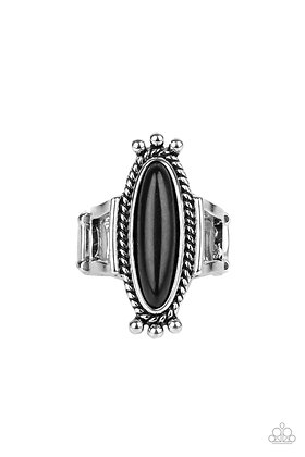 Sahara Escape Black Ring - Item # R1265