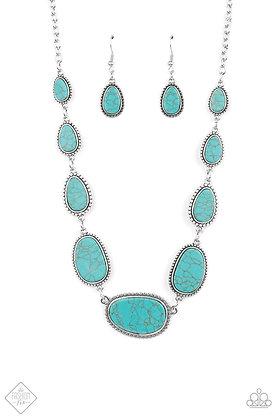 Elemental Eden Blue Necklace - N1477
