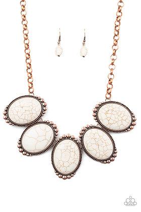 Prairie Goddess - Copper Necklace - N1294