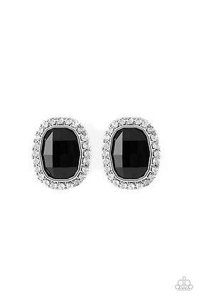 The Modern Monroe Black Earring - E1227