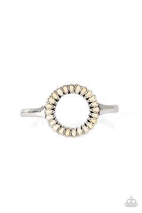 Divinely Desert White Bracelet - B1297