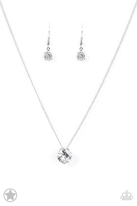 What A Gem White Necklace - Item #N1106