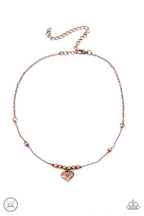 Casual Crush Copper Necklace - N1351