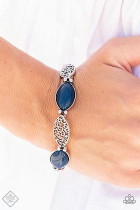 Garden Rendezvous Blue Bracelet - B1495