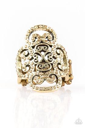 Regal Regalia Brass Ring - R1322