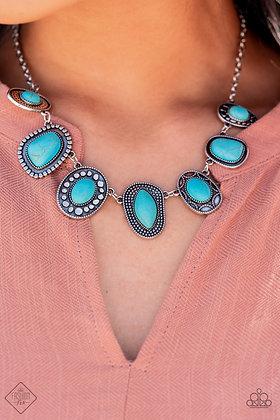 Albuquerque Artisan Blue Necklace - N1489