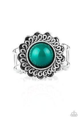 Garden Stroll Green Ring - Item #R1225