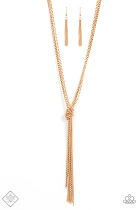 KNOT All There Gold Necklace - N1481