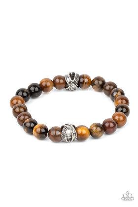 ZEN Commandments Brown Bracelet - B1320
