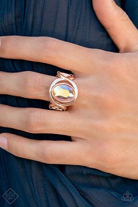 Mystical Treasure Rose Gold Ring - R1461