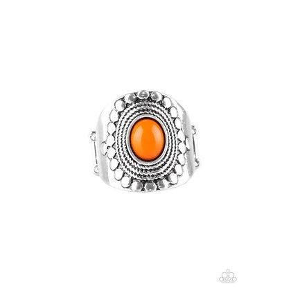 ZEN To One Orange Ring - Item # R1082