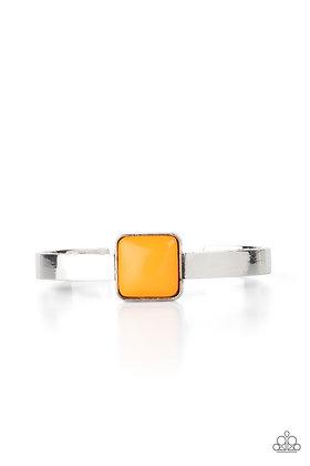 Prismatically Poppin Orange Bracelet - B1445